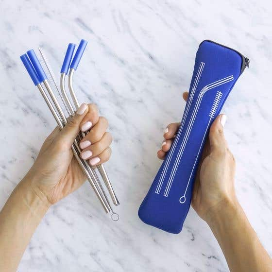 Reusable Straws Set