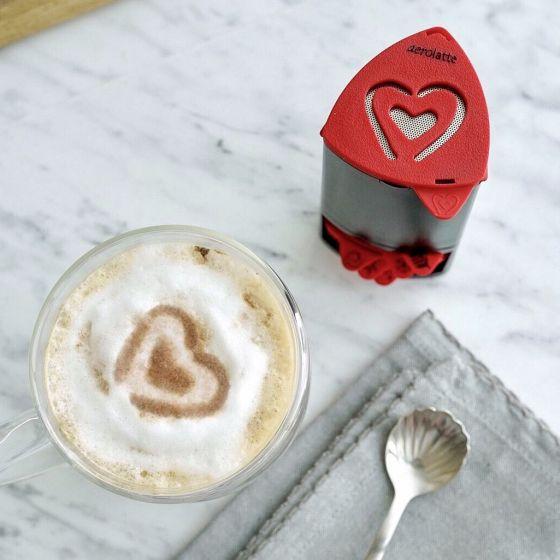 Set of 6 Cappuccino Artist Stencils by Aerolatte