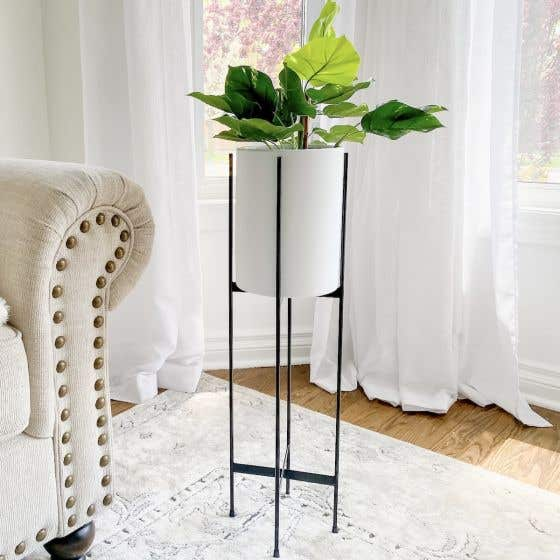 Alto Ceramic Standing Plant Pot Collection