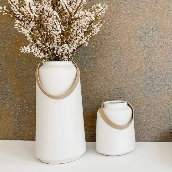 Lido Vase Collection with Handle