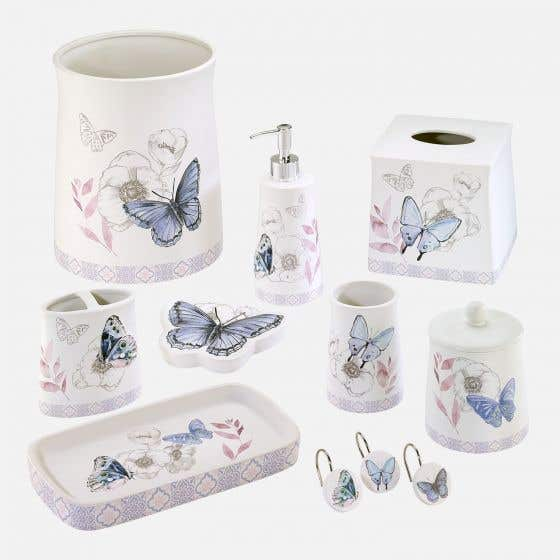 In The Garden Bath Accessories, Avanti Bathroom Sets