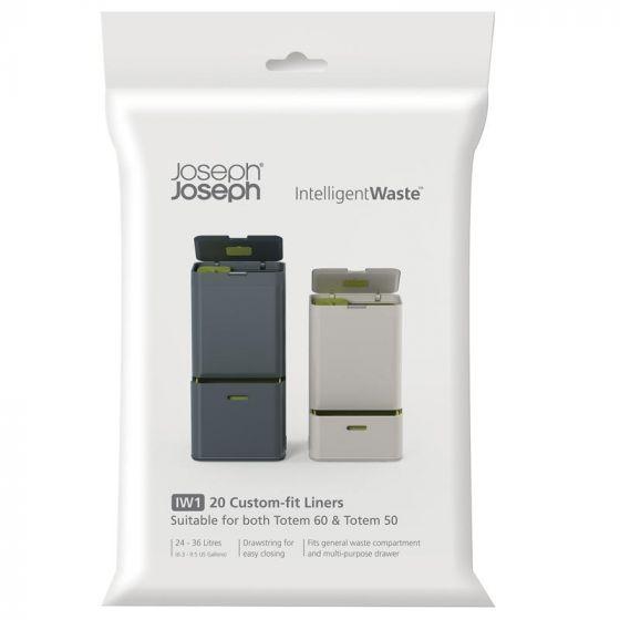 Paquet de 20 sacs à poubelle par Joseph Joseph