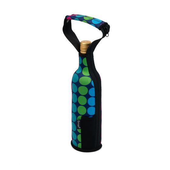 Sac à bouteille de vin avec pochette à tire-bouchon