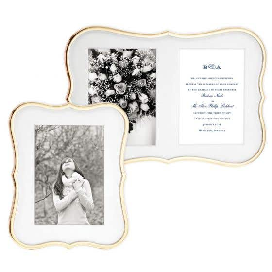 Crown Point Gold Frames by Kate Spade
