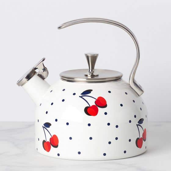 Kate Spade Vintage Cherry Dot Kettle