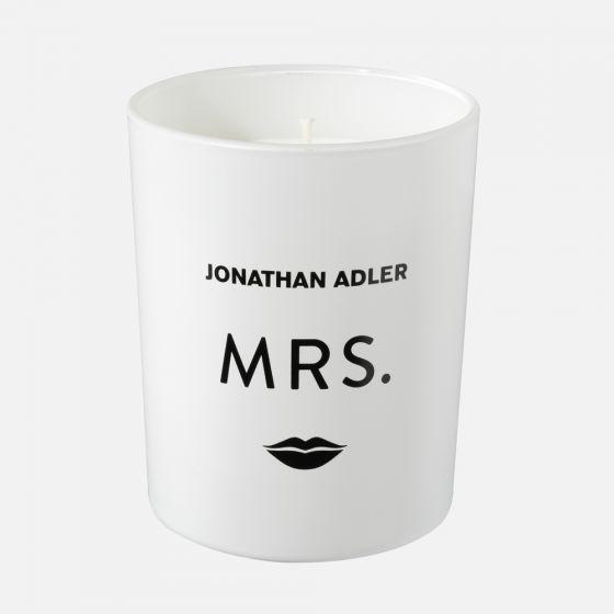 Bougie parfumée Jonathan Adler « MRS. » - Envolée d'agrumes