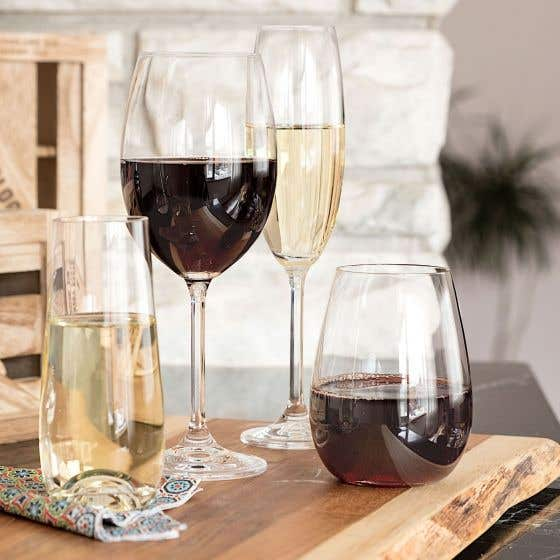 Sets of 6 Glasses by Crystalite Bohemia