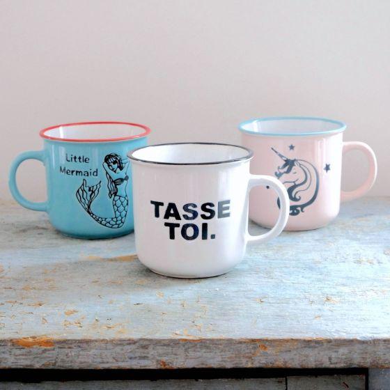 Enameled Mug Collection
