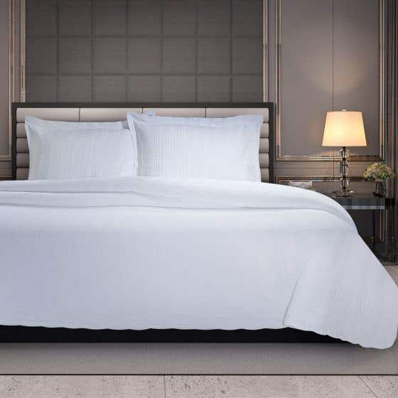 Linear Coverlet Collection