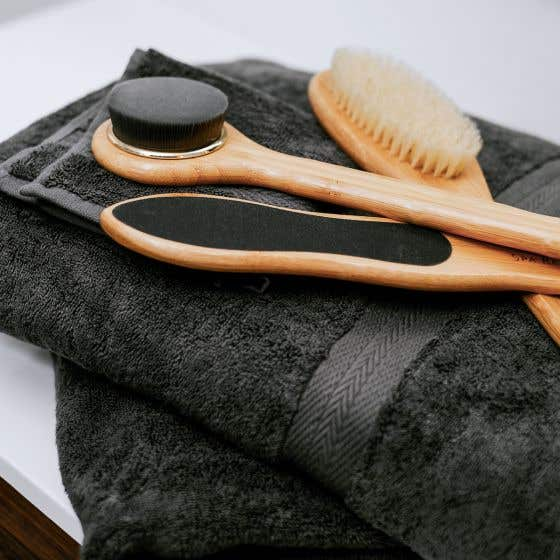 Home Spa Bamboo Brush Collection