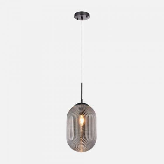 """Etched Glass Pendant Lamp 8"""" by Luce Lumen"""