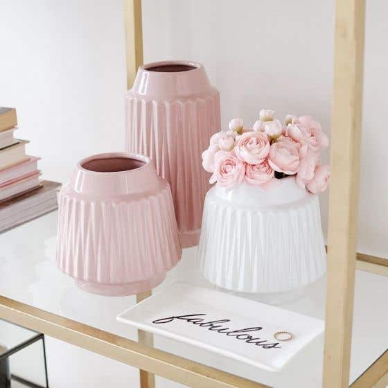 Ella Faceted Vase Collection by Torre & Tagus