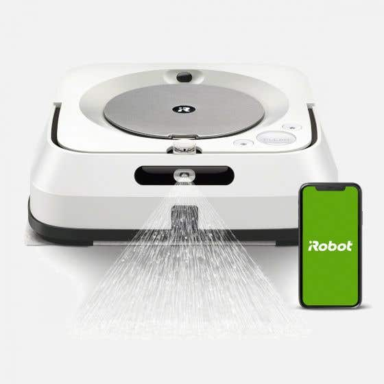 iRobot® Braava® Jet m6 Wi-Fi-Connected Floor Mop