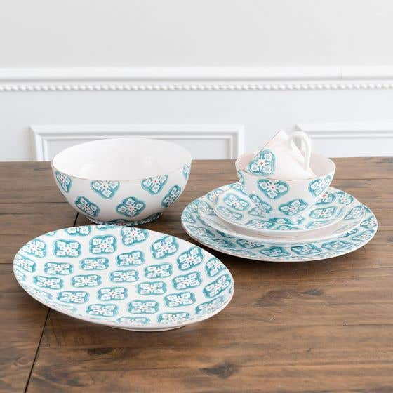 Vaisselle collection«Bargello»bleue