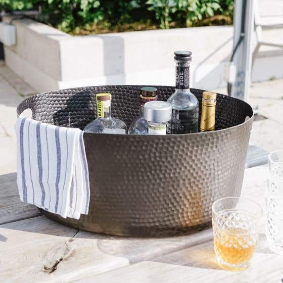 Black Harling Ice and Drinks Tub