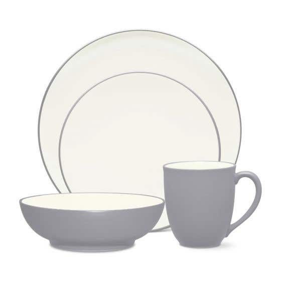 Colorwave Slate Dinnerware Collection by Noritake