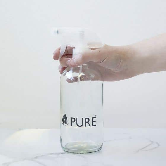 Glass Spray Bottle by Pure