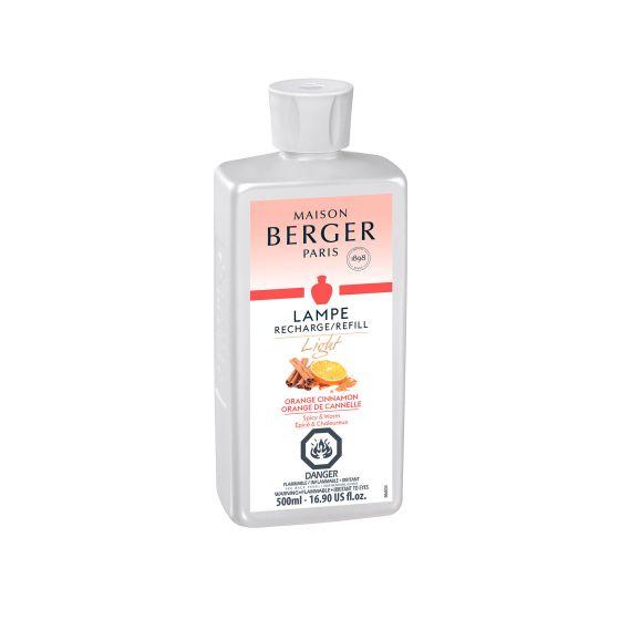 Recharge pour lampe Berger «Orange de cannelle» – 500ml