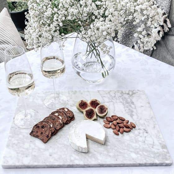 Marble Serving Board by Natural Living
