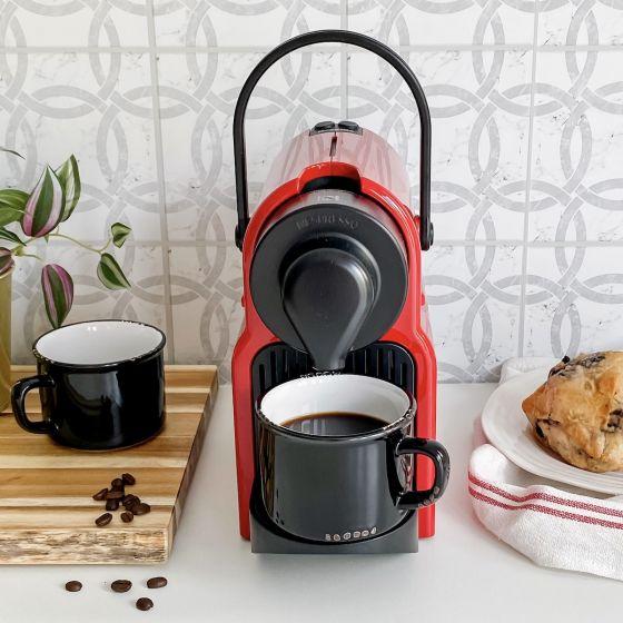 Inissia Red Nespresso Capsule Machine by Breville