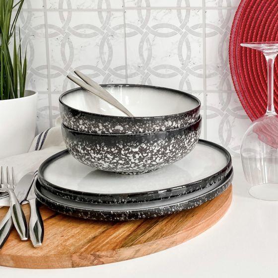 Caviar Granite Dinnerware Collection by Maxwell & Williams