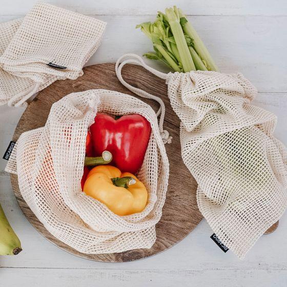 Ensemble de 4 sacs réutilisables Ricardo «Eco»