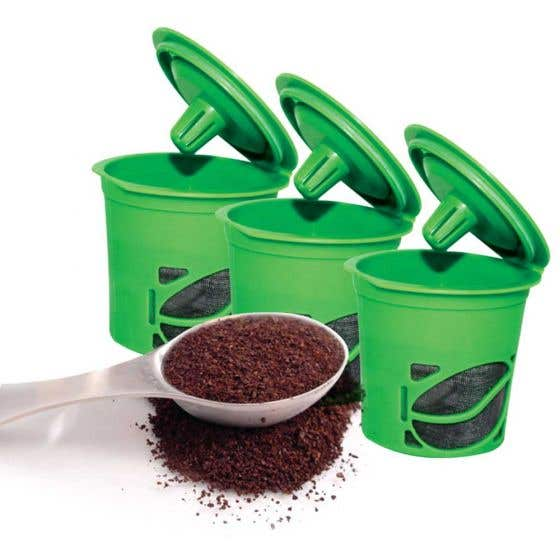 Clever Reusable Coffee Capsules