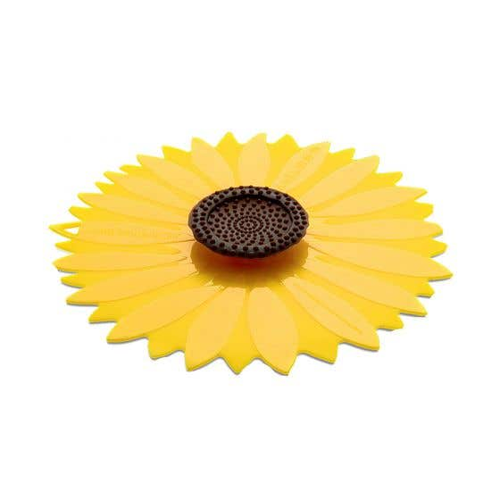 Charles Viancin Sunflower Silicone Suction Lid