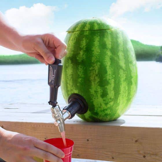 Watermelon Keg Deluxe Tapping Kit