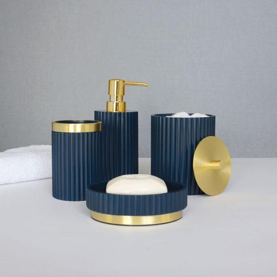 Ridges Bath Accessories Collection by Elle