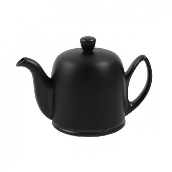 Salam Black Matte 6-Cup Teapot