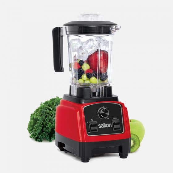 Red Compact Power Blender by Salton