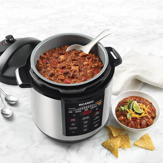 Ricardo 6-Litre Multifunction Electric Pressure Cooker