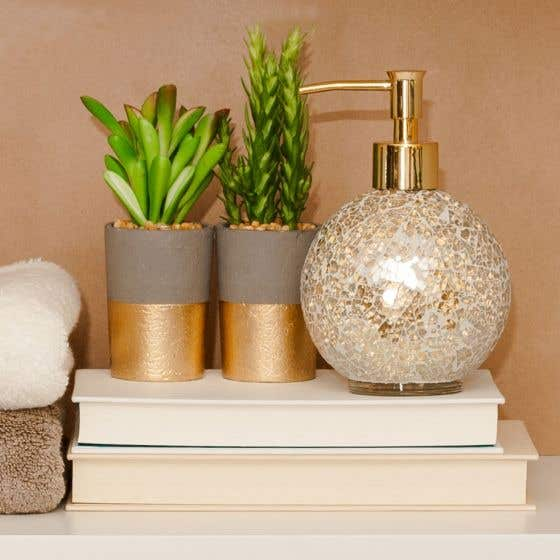Succulent Potted Decorative Plant Collection