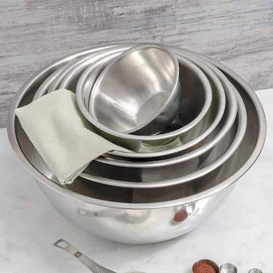Fox Run Stainless Steel Mixing Bowls