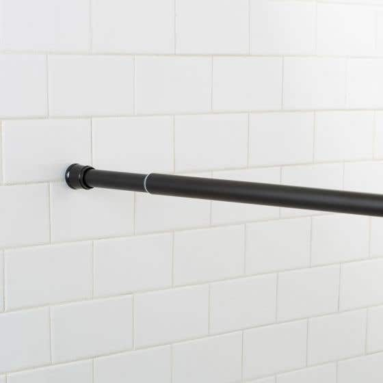 Tringle à rideau de douche à ventouse