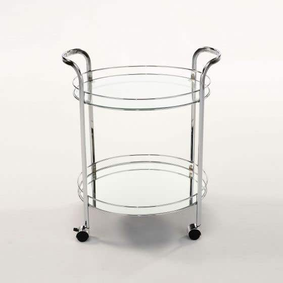 Tassy 2-Tier Bar Cart