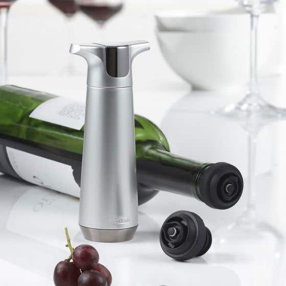 Origin Wine Pump with 2 Stoppers by Trudeau