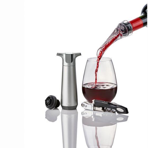 Ensemble-cadeau pour vin Trudeau 4 pièces