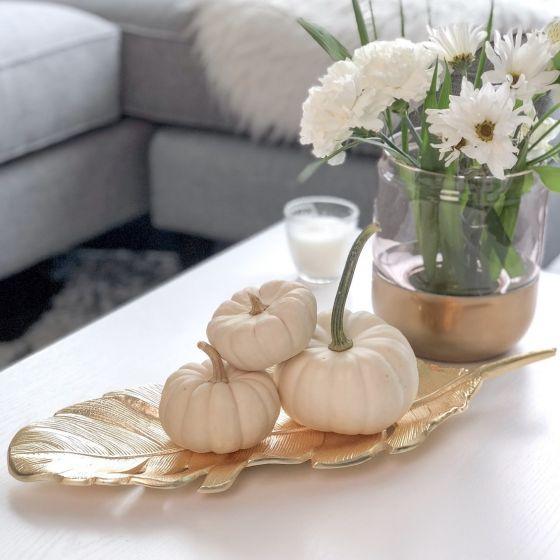 Centre de table«Tropical Leaf »