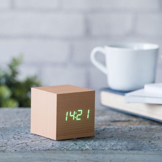 Beech Click Clock