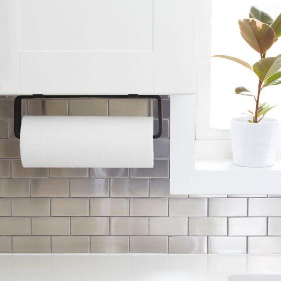 Umbra Squire Multi-Use Black Paper Towel Holder
