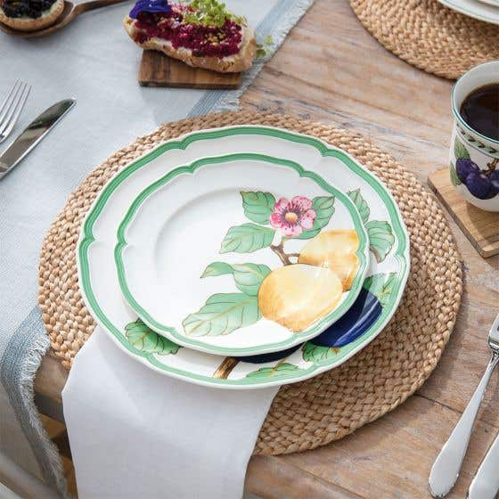 French Modern Fruit Dinnerware Collection by Villeroy & Boch