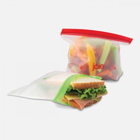 Set of 6 Reusable PEVA Bags