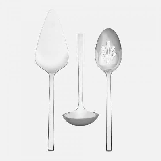 Set of 3 Polished Serving Pieces by Wedgwood