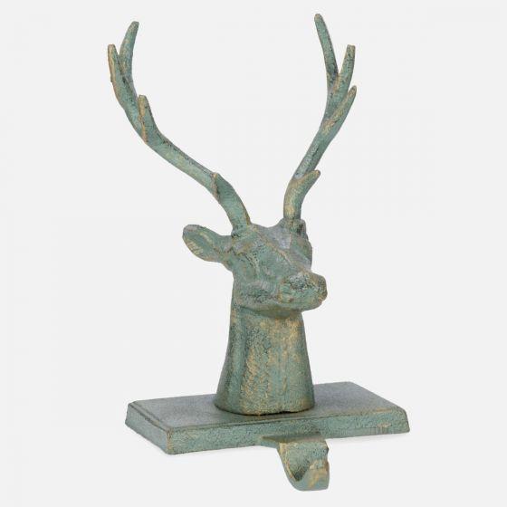 Deer Christmas Stocking Hook