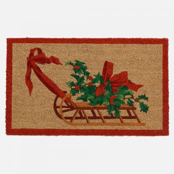 Sleigh Doormat