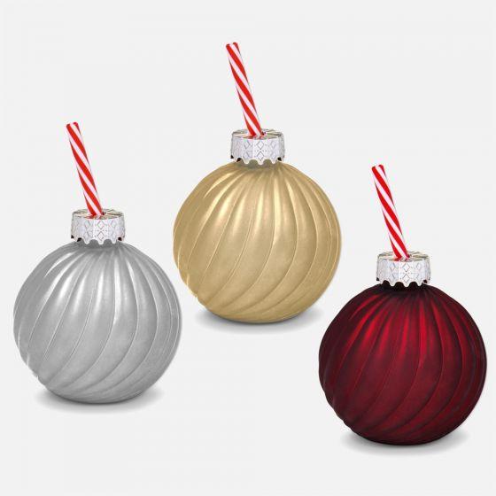 Tasse de boule de Noël
