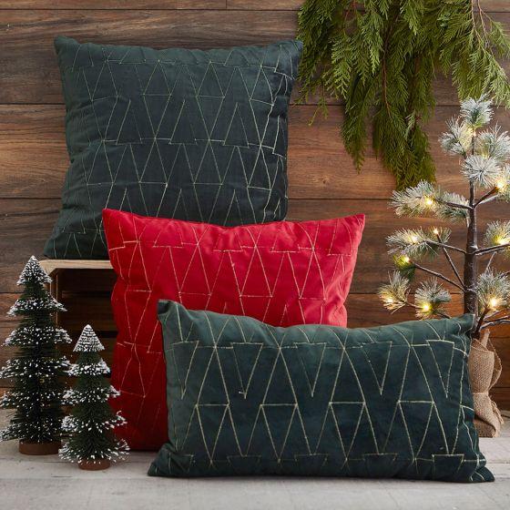 Trees Velvet Cushion