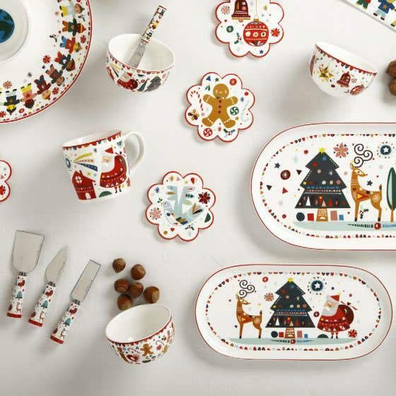 Festive Friends Dinnerware Collection